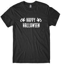 Happy Halloween Mens Funny Unisex Halloween T-Shirt