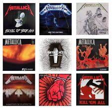 MINIATURE 1/12 Non Playable VINYL RECORD ALBUMS - METALLICA - VARIOUS TITLES