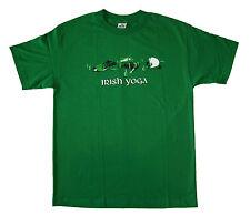 FUNNY T SHIRT - Irish Yoga - t shirt M,L,XL,2XL Brand New !!! Very Nice