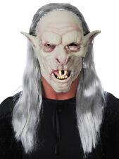 Scarey Full Head / Wig Hair HOBGOBLIN Soft PVC Mask Halloween Dress Up Costume