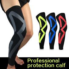 Full Length Elastic Compression Braces Anti Slip Knee Support Leg Proof Sleeve