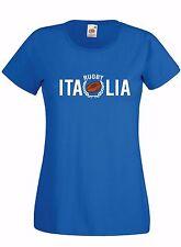 T-shirt Maglietta donna J1666 Italia Rugby Sei Nazioni Maglia Terzo Tempo Beer
