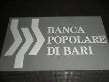 SPONSOR MAGLIETTA HOME 2009 BARI BANCA POPOLARE DI BARI
