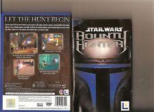 StarWars Bounty Hunter Playstation 2 PS2 Jango Fett Star Wars