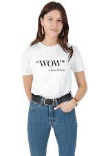 Owen Wilson-Wow T-shirt Top Shirt Tee Fashion Funny Phrase Citation acteur