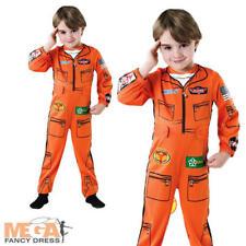 Dusty Flight Suit Boys Disney Planes Fancy Dress Childrens Uniform Costume 1-6