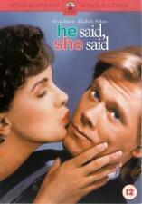 HE SAID, SHE SAID GENUINE R2 DVD KEVIN BACON ELIZABETH PERKINS NEW/SEALED
