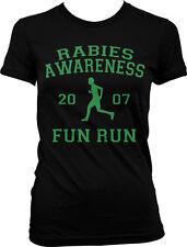 Rabies Awareness Fun Run Michael Scott The Office 5K Funny Humor Juniors T-shirt