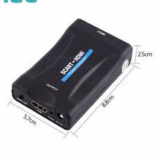 HDMI zu SCART Konverter 1080P Plugand Play Video Signal Adapter für HDTV DVD IE