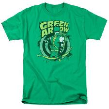 Green Arrow On Target DC Comics Licensed Adult T Shirt