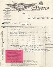 HERSFELD, Rechnung 1934, Weberei und Färberei Ad. Wever AG