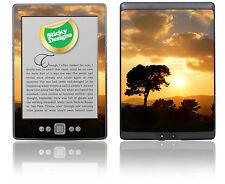Amazon kindle 4 eBook l'arbre d'or reader-sunset nature scène autocollant couverture de peau
