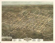 North Carolina Vintage Panoramic Maps Collection On Cd