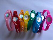 8  PCS  RED,PINK,GREEN,YELLOW, Power Balance Energy Health  Bracelet S,XS,M,L,XL