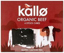 Kallo Organic Boeuf Stock Cubes 66 g