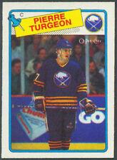 1988 - 1989 Hockey O Pee Chee  Pierre Turgeon  Rookie