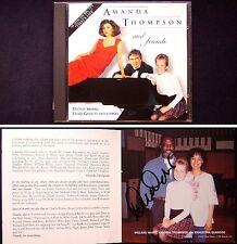 Willard WHITE Signed AMANDA THOMPSON ALBUM Lesley Garrett Dudley Moore Für Elise