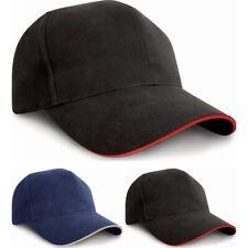 Adult Unisex Result Pro Style 100% Heavy Cotton Baseball Cap Hat