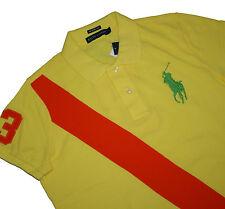 Ralph Lauren Damen Banner Big Pony The Skinny Polo Poloshirt
