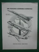 11/1982 PUB DASSAULT ATL GARDIAN SUPER ETENDARD MARINE NATIONALE AERONAVALE AD