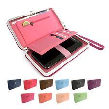 Ladies Fashion Long Wallet Purse Card Phone Holder Clutch Button Handbag Case#uk