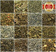 Green Tea 17+ Types! Loose Leaf Tea - Top Quality - Thick Leaf Green Tea 50-200g