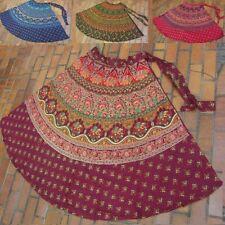 À Langer-rock wrap on skirt jupe goa hippie vintage Ethno Boho Inde Inde Népal
