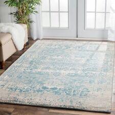 ELIZA 253 CREAM BLUE Grey Modern Rug Large Floor Mat Carpet FREE DELIVERY*