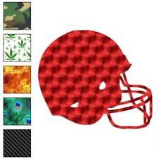 Football Helmet Sports Decal Sticker Choose Pattern + Size #326