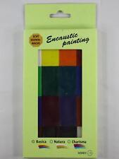 Encaustic Wachsblock Sets 16 Farben