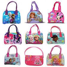 Disney Princess & Girls TV personnage école sac cosmétique à main bowling Nouveau Cadeau