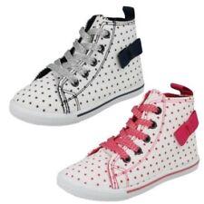 filles Spot On lacet Montantes Chaussures
