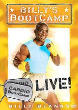 Billy Blanks - Billys Bootcamp Live: Cardio Bootcamp (DVD, 2006)