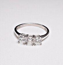 925 St Silver ring, White Topaz, N, O1/2, P1/2, Q, S.