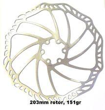 PROMAX Ultra Luce Inox 203 mm è Rotore Freno a disco, 151 G AVID/HAYES/SHIMANO