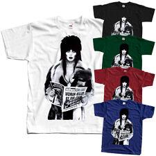 Elvira: Mistress of the Dark V21, movie poster, T-shirts (BLACK) ALL SIZES S-5XL
