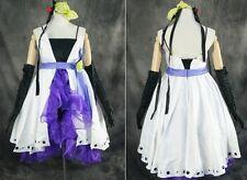 H-046 S/m/L/XL/XXL VOCALOID Haku blanco azul Cosplay Disfraz costume dress