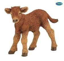 X32) NEUF PAPO (51130) Limousine Veau Vache Figurine animal Ferme domestiques