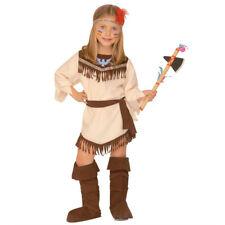 Indianerin Kostüm Squaw Pocahontas Kleid Mädchenkostüm Kinderkostüm Indian Girl
