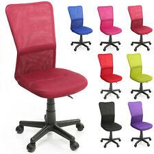 Chaise Fauteuil siège de bureau ergonomique de 7 couleurs différentes