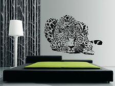 Leopardo Caza Pared Arte Calcomanías Pegatinas de vinilo de calidad-también para las superficies de vidrio