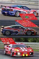 Calcas Ferrari 360 Modena Le Mans 2002 70 71 74 1:32 1:43 1:24 1:18 slot decals