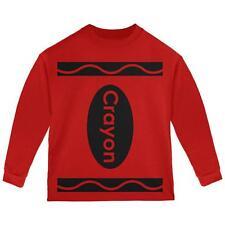 Halloween Crayon Costume Toddler Long Sleeve T Shirt