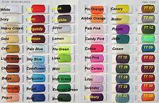SHEER ORGANZA FABRIC -  Voile Per METRE  - Plain Colours & Two Tones 145cm Wide