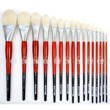 Da Vinci Maestro 2 Hog Brushes Series 5923 Long Hair Filbert. Artists Brush.