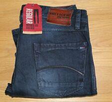 Tommy Hilfiger Ronnie Baker Blue Black Jeans RRP £85.00