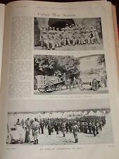 1898 CUBA MARSHAL BLANCO SPANISH ARTILLERY MASS TROOPS