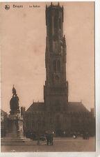 Le Beffrol - Bruges Photo Postcard c1910