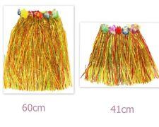 Adult Kids Hawaiian Costume Tropical Dress Hula Luau Leis Skirt Party Dress Up