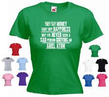 """""""Ariel Atom 'Damas Camiseta De Coche Divertido"""" dicen que el dinero no puede comprar la felicidad, pero.."""""""